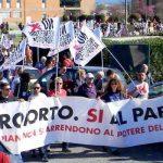 Manifestazione del 30 marzo 2019 (dalla pagina Facebook di Presidio Noinc Noaero