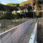 I lavori per il sottopasso (foto Gruppo d'Intervento Giuridico onlus)
