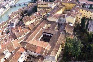 La ex-caserma Vittorio Veneto in Costa San Giorgio