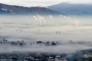 Inquinamento nella piana di Pistoia (foto Legambiente Quarrata)
