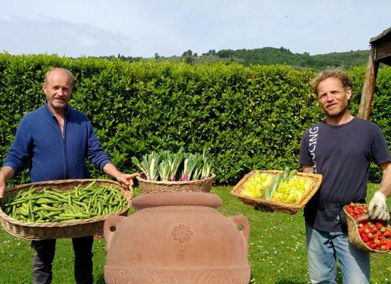 Da sinistra Fabrizio e Giuliano Faffini