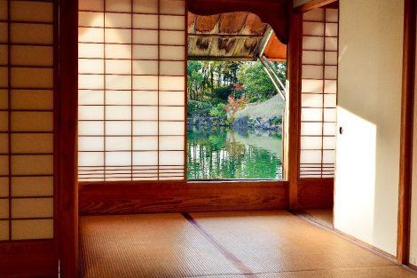 Interno casa giapponese Feng Shui. (Foto da Lotus Home Design Studio).
