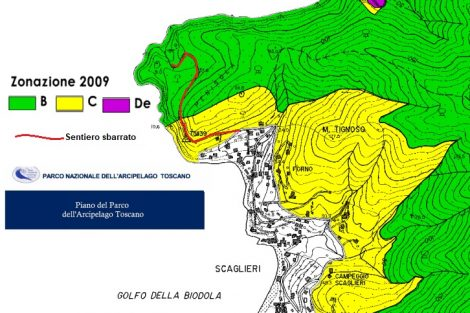 Cartografia di Punta Penisola