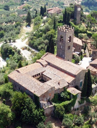 Chiostro di Buggiano Castello (Pistoia)
