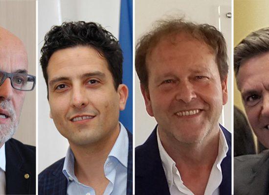 Da sinistra Tiziano Pieretti, Francesco Marini, Alessandro Cafissi e Fabrizio Palla.