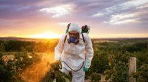Irrorazione pesticidi