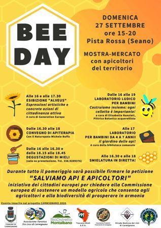 Bee Day Carmignano_locandina