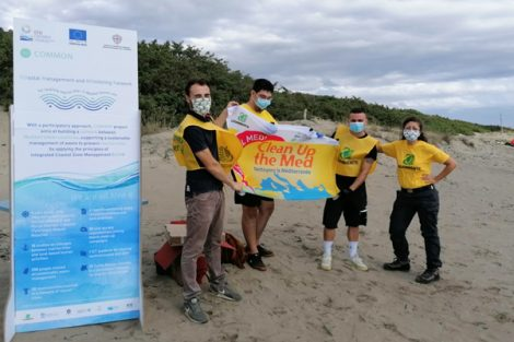 Common, Legambiente, Clean up The Med, Maremma, Toscana, Ambiente.