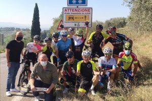 Barberino Tavarnelle cartelli salvaciclisti