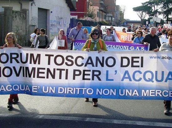 Forum movimenti Acqua Toscana
