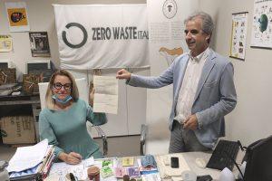 Irene Galletti Movimento 5 stelle, M%S, Rossano Ercolini, Zero Waste, protoccolo rifiuti zero, Toscana ambiente.