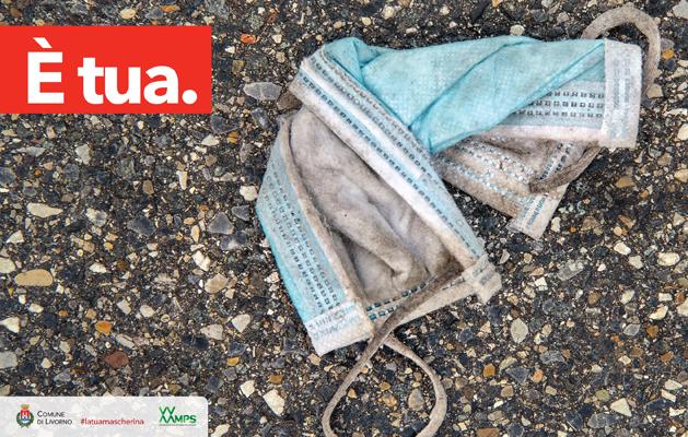 Livorno, mascherine-abbandono, lavabili, laura lezza, Toscana ambiente.