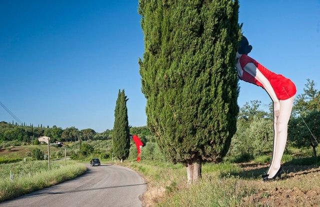 Il Parco sculture del Chianti a Pievasciata