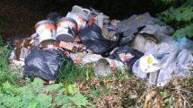 fototrappole nel Chianti, rifiuti e discariche abusive, Toscana ambiente.