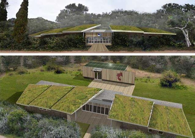 Giannutri, nel 2022 un nuovo centro accoglienza in sintonia con la natura