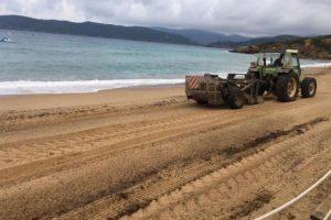 Ripascimenti sabbia Lacona
