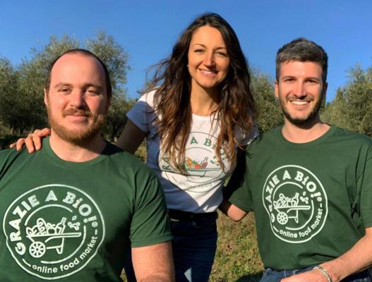 A Firenze un nuovo progetto di biologico solidale online, si chiama Grazie a bio.