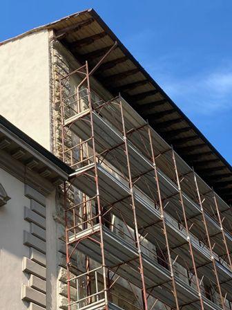 Cantiere edilizio a Firenze (foto di C. Manetti)