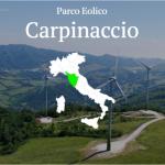 parco eolico Carpinaccio