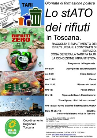 Giornata sui rifiuti_locandina