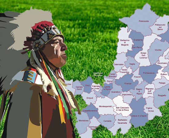 I nativi americani in Toscana, un'occasione per andare oltre le apparenze